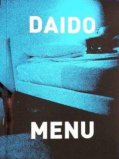 Daido Moriyama — Menu