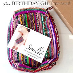 Today only - we're celebrating our 4 year birthday by gifting you a free Shine Forth clutch with every (YES EVERY!) purchase + Free Shipping. Just use code BIRTHDAY17 at checkout (only at renee-soulie.com) - you'll see your free shipping and we'll include your clutch in your box.  #birthdaygift #ethicalfashion #artisanmade #yogagift #yogaeverydamnday #travelessentials #soulie #thebeautyofhandmade