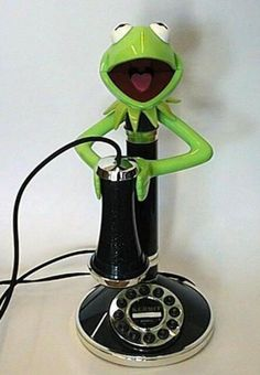 Most Unusual Telephones photo  Kermit phone