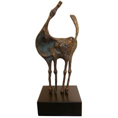 Abstract Bronze Horse by Curtis Jere