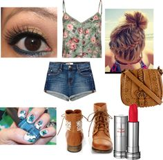 """Summer Hipster Outfit"" by rachelbaxter196 on Polyvore"
