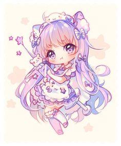 [+Video] Commission - Rainbow Dance by Hyanna-Natsu on DeviantArt Kawaii Neko Girl, Manga Kawaii, Kawaii Chibi, Kawaii Art, Dibujos Anime Chibi, Cute Anime Chibi, Cute Animal Drawings Kawaii, Cute Drawings, Anime Art Girl