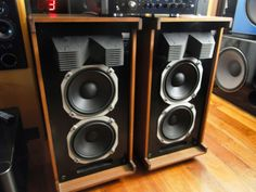Vintage Sansui Speakers