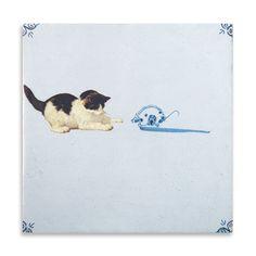 StoryTiles Rijksmuseum Collectie | Kat En Muis | Marga van Oers | Loods 5 | Kunst | Jouw stijl in huis meubels & woonaccessoires