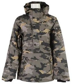 On Sale Oakley Alfa Biozone Pullover Snowboard Jacket - Womens up to 40% off
