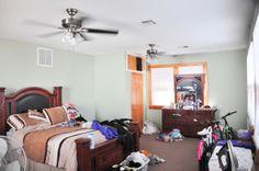 419 South Murat, New Orleans LA 70119: Master bedroom 419 Side