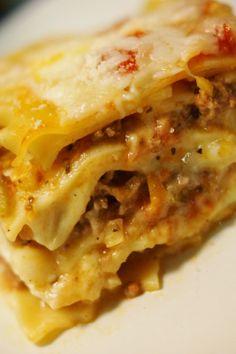 Recipes from Disney World!  Lasagna al Forono from Tutto Italia, EPCOT.