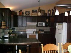 primitive decor | Primitive Decorating Ideas for Kitchen With Granite Countertops