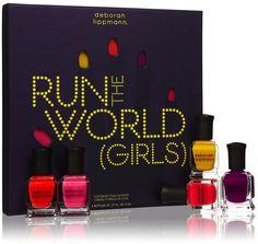 Deborah Lippmann - Run the World (Girls) - Nail Polish Set $50    #nail #polish