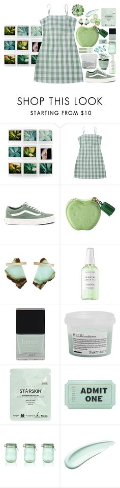 """I Got A Pocket Full Of Dreams"" by sof26 ❤ liked on Polyvore featuring Vans, Kathleen Whitaker, Herbivore, Butter London, Davines, Starskin, Kate Spade, Kilner and Koh Gen Do"