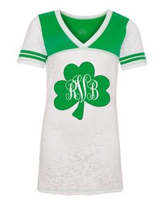 Personalized Monogrammed ST. PATRICK'S DAY Shirt by Monogramjunkie, $32.99
