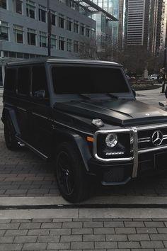 Mercedes Benz Clase G, Mercedes Benz G Klasse, Mercedes Benz Autos, Gwagon Mercedes, Mercedes G Wagon Amg, Mercedes Benz Cars, Matte Black Cars, Matte Cars, Dream Cars