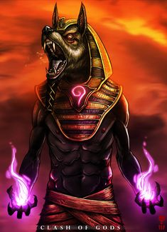 ANUBIS - Clash of Gods by The-Last-Phantom on DeviantArt