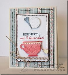 Tea Party Stamp Set