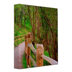 Path To The Spring Woods 3 Ring Binder