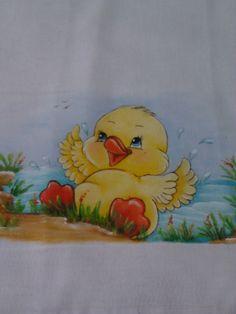 Pintura em fralda///Painting in diaper