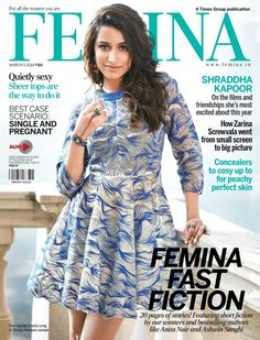 Femina - March 5 2014 : We celebrate the season of love with four couples who shouldn't be together, according to the law, but fight every day to be with each other. These illegal love stories will turn your heart to mush. Also, read about model Esha Gupta talk about her love for a younger man. And celebrate Valentine's Day with food the two of you can cook together.