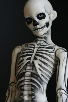 skeleton boy by Kittytoes, via Flickr  // Ball Joint Doll