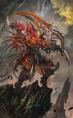 dragon knight-2 by braveking - Ham Sung choul - CGHUB via PinCG.com