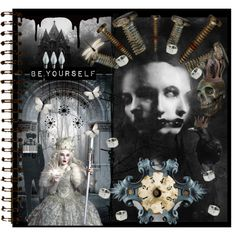 An art collage from January 2013 Journal Pages, Collage Art, Polyvore, Fictional Characters, January, Design, Women, Fantasy Characters