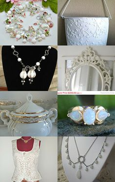 White Delights from the TT Team by Donna on Etsy--Pinned with TreasuryPin.com