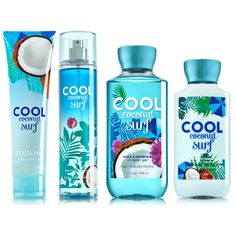 Bath and Body Works Summer Collections ❤ liked on Polyvore featuring beauty products, bath & body products, body cleansers, makeup, beauty, perfume, accessories, filler and summer perfume