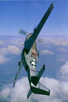 The Big Beautiful Doll in a climbing turn. I love the unusual angle of the P-51 in this photo. What a beautiful doll indeed. My Blogs: Beautiful Warbirds The Test Pilots P-38 Lightning Nasa...