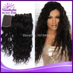 Cheap lace front wig wholesale, Buy Quality lace white directly from China lace closure Suppliers:  http://www.aliexpress.com/item/Virgin-Brazillian-Water-Wave-1-Piece-Lace-Top-Closure-with-3Pcs-Hair-Bundle-4pcs-lot-For/1848424411.html