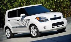 2011 #Kia Soul White Tiger Special Edition...i feel obligated to get this since its my favorite animal...