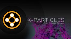 New X-Particles project tutorial showing how to flow particles into different shapes over time.