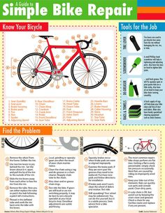 How-to: Simple Bike Repair Guide To Bikes And 40 Of The Most Bizzare Bicycle Design Collection Cycling Tips, Road Cycling, Cycling Quotes, Bicycle Quotes, Cycling Motivation, Cycling Workout, Cycling For Beginners, Bike Workouts, Bicycle Workout