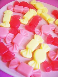 Sweet Candy Soap Set