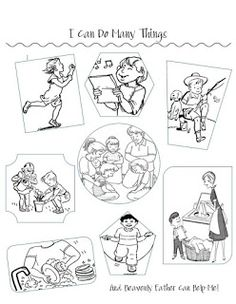 LDS ACTIVITY IDEAS: I Love My Brothers and Sisters