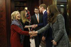 Britain's Prince William and Kate visit Big Apple