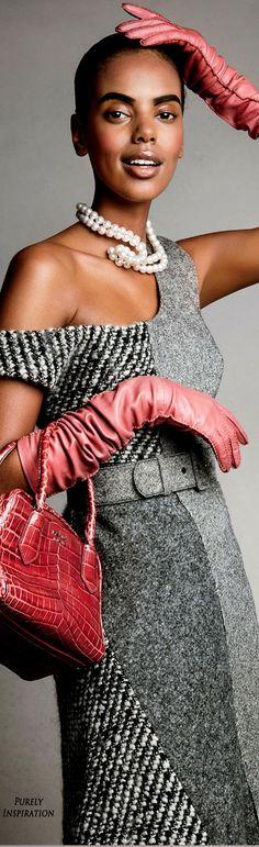Patrick Demarchelier (Photographer), Jillian Davison (Fashion Editor) for Glamour Magazine, September 2015   Purely Inspiration