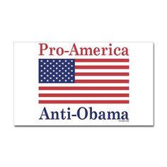 Anti-Obama Decal