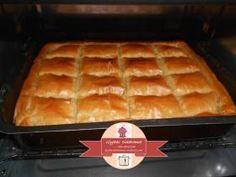 Zucchini pie with semolina in crust sheets / glykesdiadromes.wordpress.com