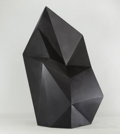 Geometric sculptures by Axel Brechensbauer