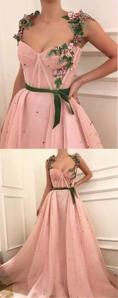Sexy+Tulle+Applique+with+Green+Belt,Beading+Prom+Dresses,Applique+Evening+Gown+Dress,A-line+Prom+Dress,Long+Evening+Dress+2018 This+dress+could+be+custom+made,+there+are+no+extra+cost+to+do+custom+size+and+color. Description+ 1,+Processing+time:+20+business+days+ Shipping+Time:+7-10+busin...#promdress#graduationdress#2018eveningdress#dress#dresses#gowns#partydress#longpromdress