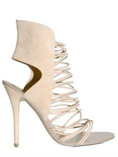 Giuseppe Zanotti strappy sandal for spring 2011.