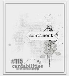 Cardabilities: Sketch Reveal #115 - Sponsor-Inspired by Stamping