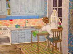 Caroline Cimen Kitchen, lillakolonin