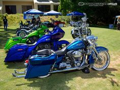 baggers | of 12 there was a handful of custom baggers on hand at the 2012 los ...