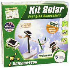 Kit Energia Solar  Los juegos de experimentos y ciencia de Science4you  www.conlosninosenlamochila.com