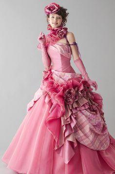 桂由美 color dress