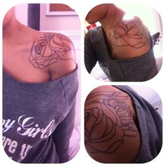 I want this placement, just a different tattoo. So pretty