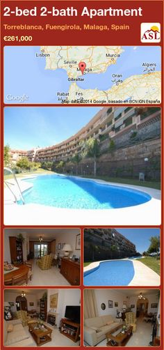 2-bed 2-bath Apartment in Torreblanca, Fuengirola, Malaga, Spain ►€261,000 #PropertyForSaleInSpain