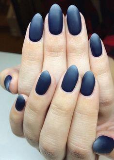 30 Dark Nail Ideas 2018 #darknails #nails #nail_ideas