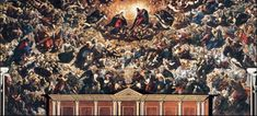 Jacopo Tintoretto / Il Paradiso is a massive oil painting on canvas that dominates the main hall of the Doge's Palace in Venice. Large Painting, Oil Painting On Canvas, Art Essay, Web Gallery Of Art, Italy Art, European Paintings, Italian Renaissance, Doge, Art Reproductions