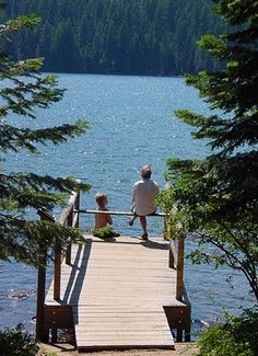Lake of the Woods is a 45 minutes drive from the Bayberry Inn Bed and Breakfast. Perfect spot to go fishing.